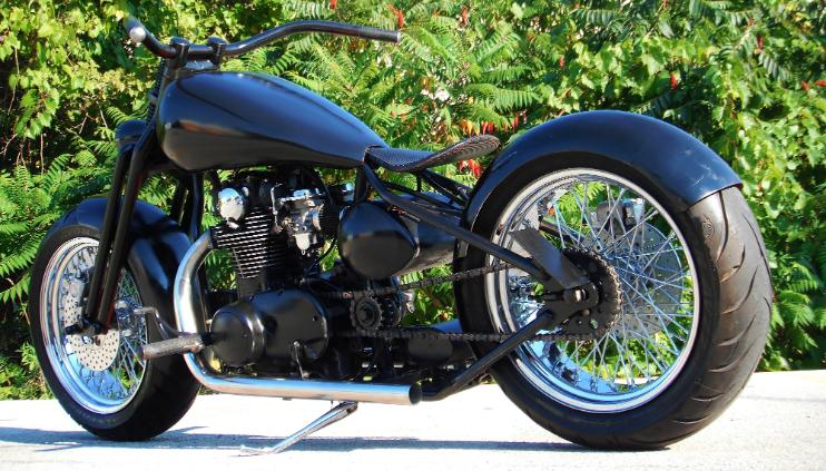 custom xs650 choppers