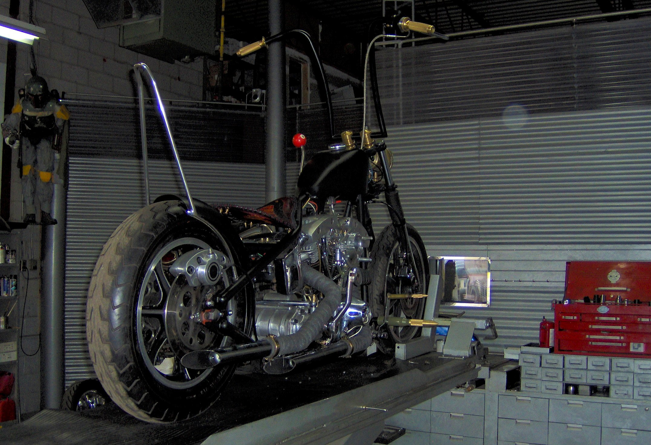 custom chopper shops ontario