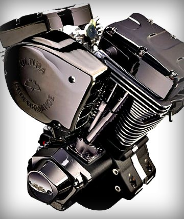 black gem aftermarket engine harley
