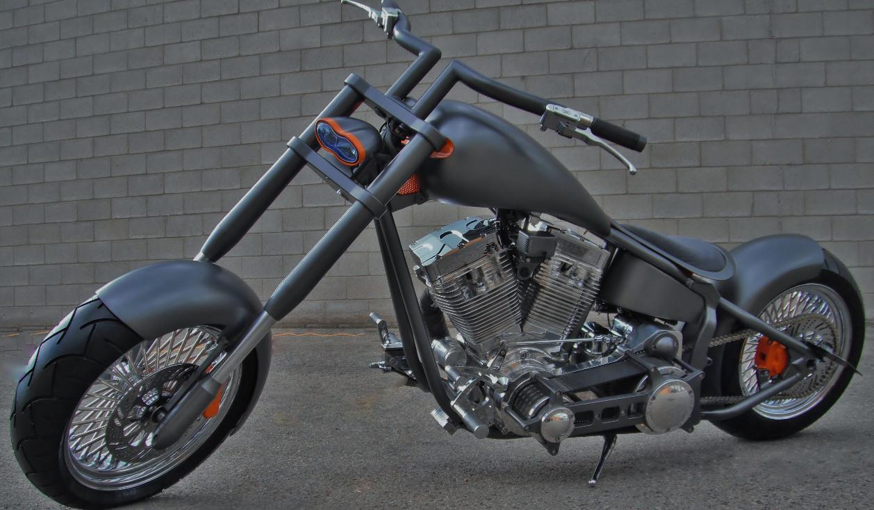 thunder bike custom softails handle bars