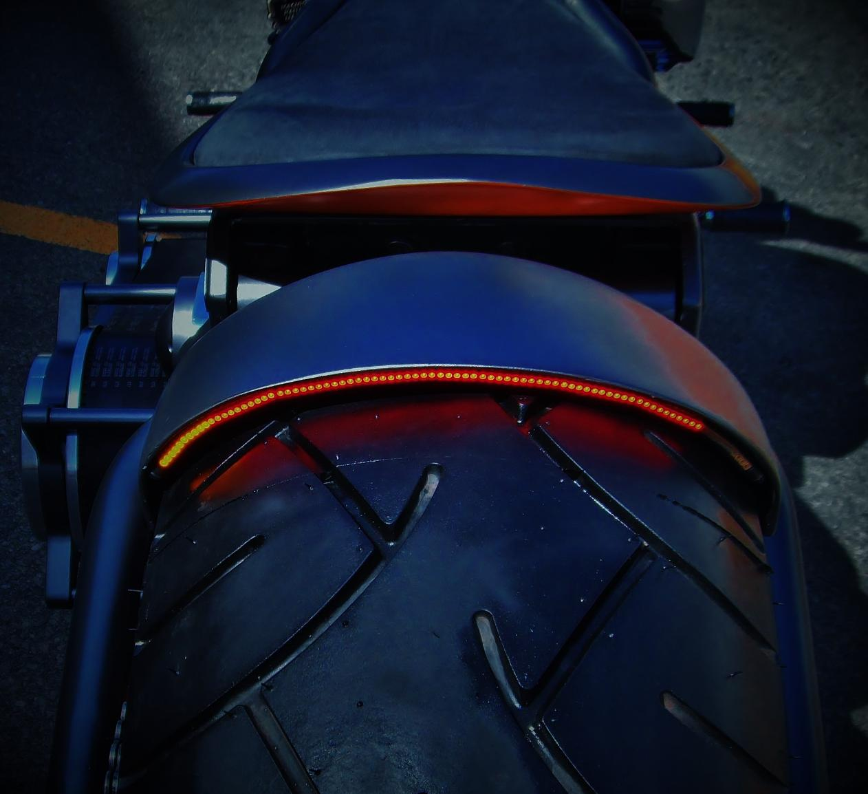 custom motorcycle tail lights turn signals led