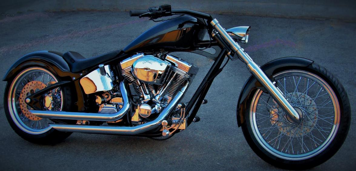 custom pro street softails canada