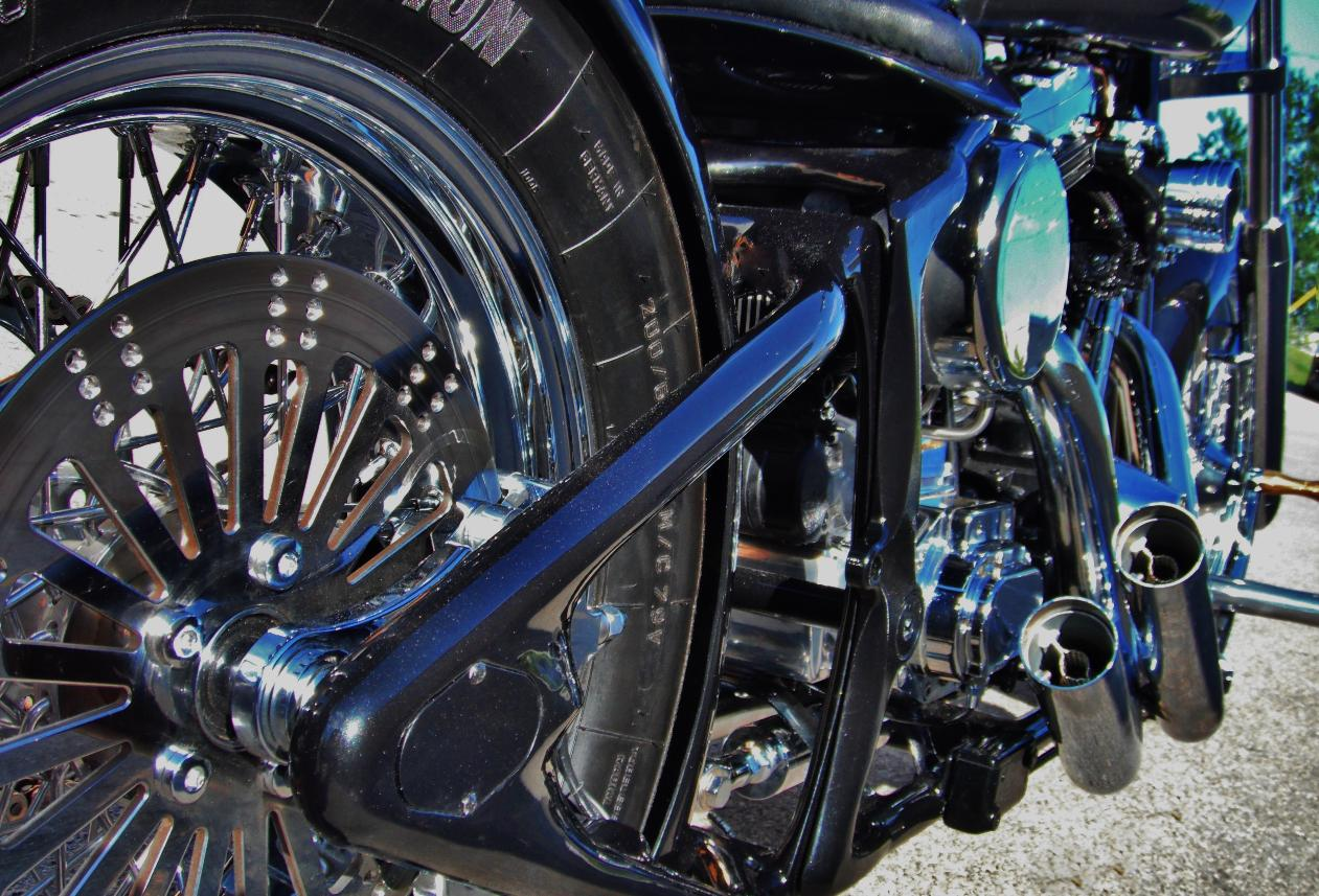 custom motorcycle frames