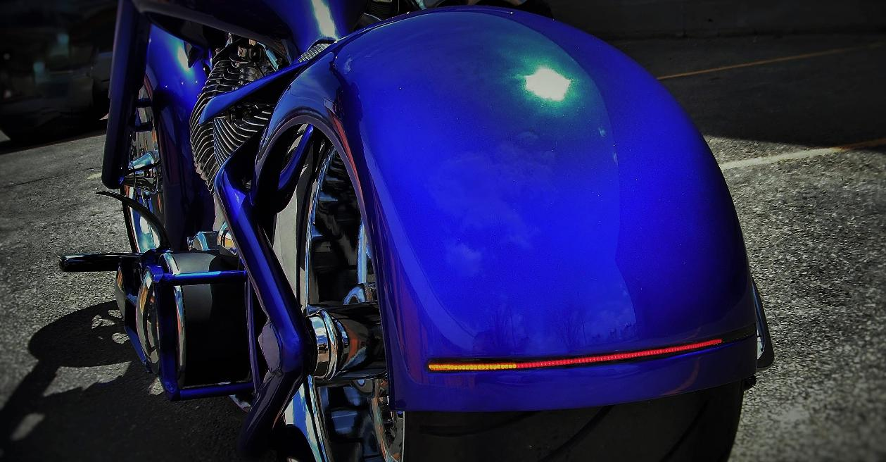 custom led motorcycle lights turn signals ontario