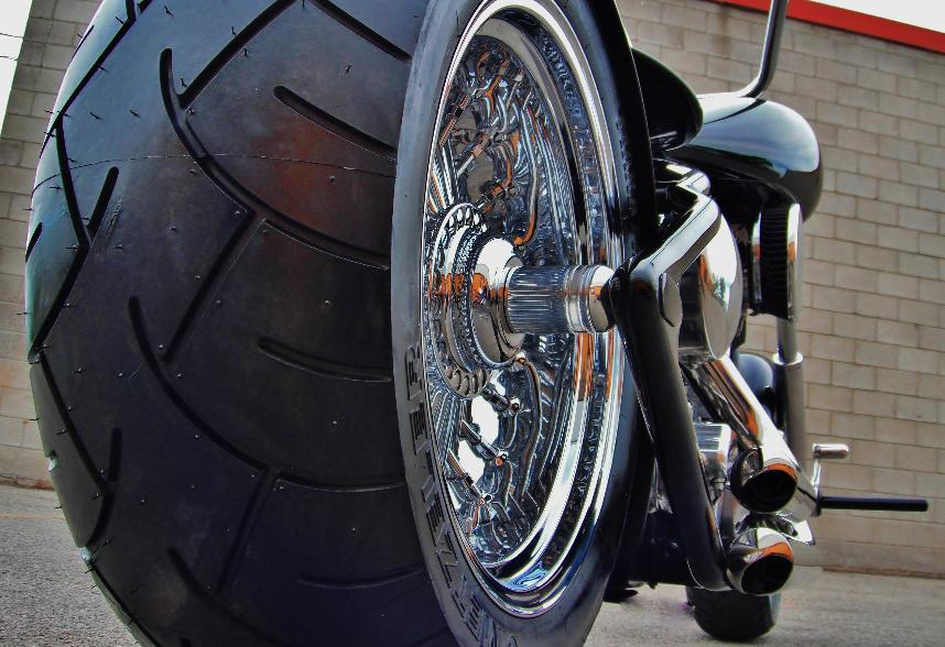 custom bobber motorcycles exhaust seats