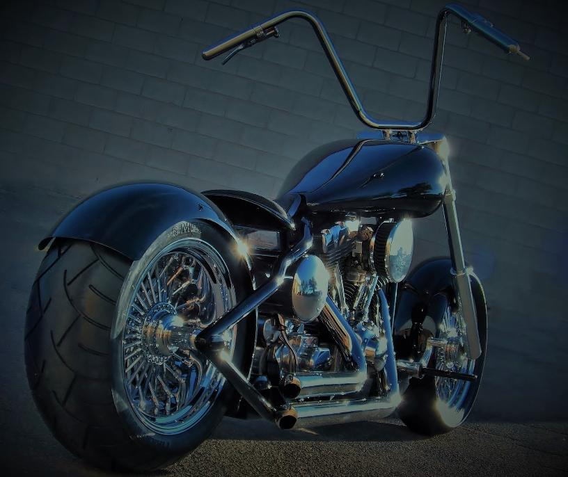 custom built motorcycles ontario bobber bobbers radial lace wheels