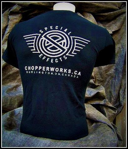 custom motorcycle shop shirts ontario