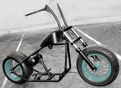 rolling chassis bobber kits for sale