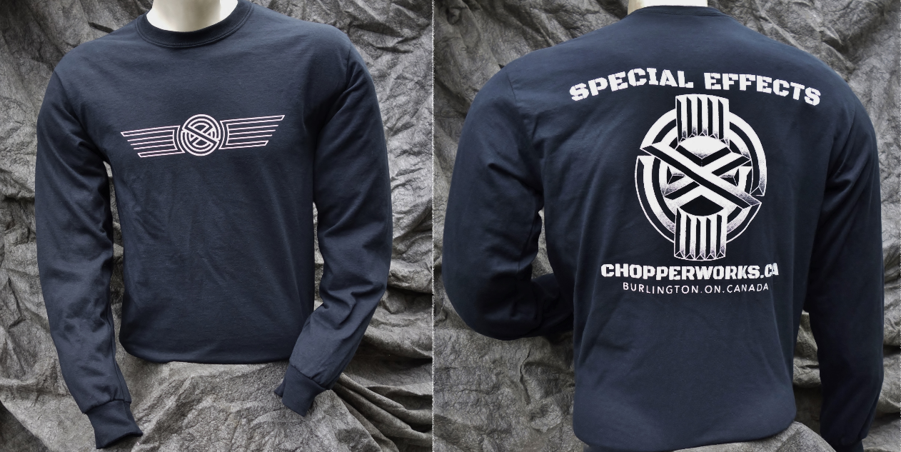 Special Effects Chopperworks shop shirt
